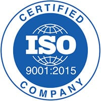 ISO-9001-2015 Certified Company