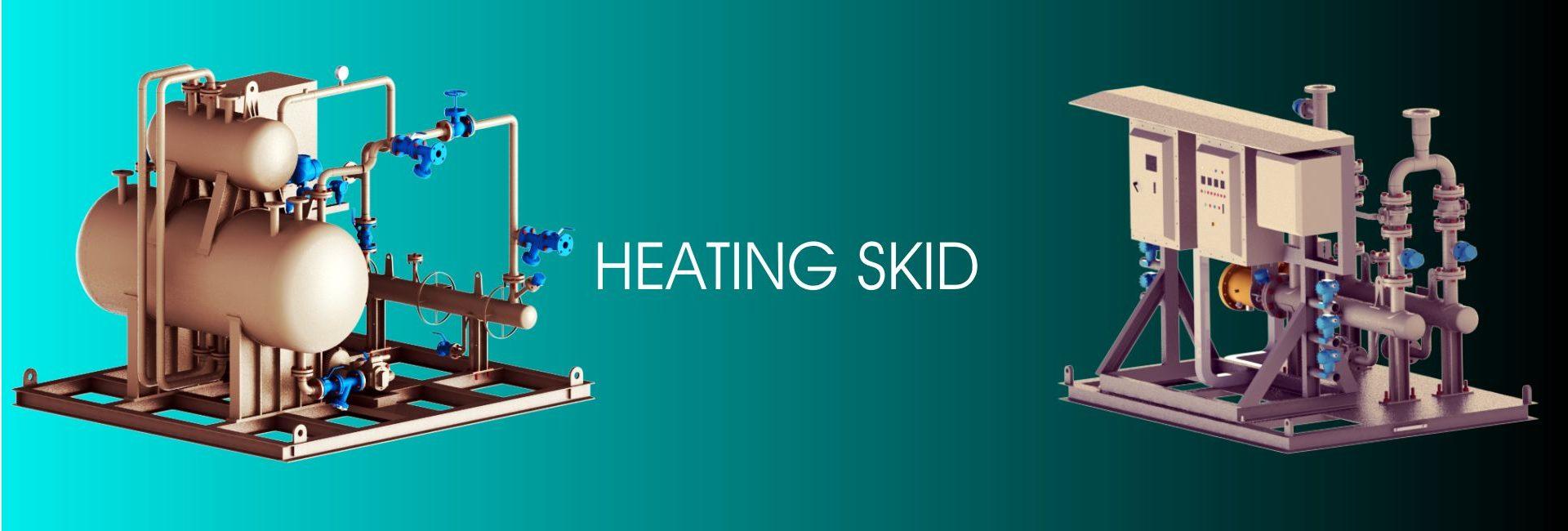Heating skid